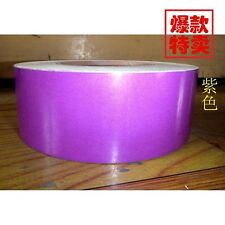 """Purple Reflective Safety Warning Conspicuity Tape Film Stickers 2""""x10' #M1304 QL"""