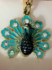 JUICY COUTURE YJRU4260  PEACOCK GOLD CHARM NWT