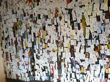 COLLECTION of 500  DIFFERENT BUSINESS CARDS.  NO DUPLICATE.
