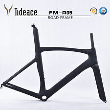 52Cm Road Frameset Full Carbon Matt Road Bike Bicycle Frame Fork Seatpost Clamp