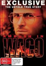 New! AMBUSH IN WACO DAVID KORESH DVD TRUE STORY (HORROR, CULT)
