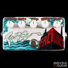 NEW ZVEX EFFECTS FUZZ FACTORY 20TH ANNIVERSARY CUSTOM HAND PAINTED FUZZ PEDAL