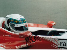 Allan McNish Hand Signed Panasonic Toyota Photo 8x6.