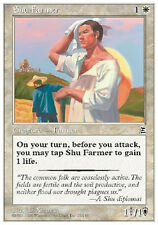 2x Shu Farmer MTG MAGIC P3K Portal Three Kingdoms Eng