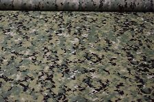 "5 Yards AOR2 Woodland Digital Epsilon 1.55oz Ripstop Fabric 62""W Camo DWR"