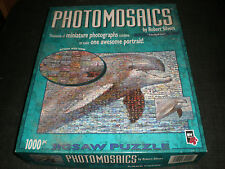 PHOTOMOSAICS Robert Silvers DOLPHIN  1000 Piece  JIGSAW PUZZLE COMPLETE