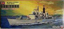 PIT-Road m-2: HMS abilitano Destroyer d98 York, linee d'acqua modello in1/700, n e u