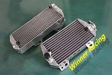BRACED R&L aluminum radiator Suzuki RMZ 450 RM-Z450 08-16 RMX450Z 2010-11