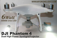 DJI Phantom 4 Dual High power Spot light  (2X3Watt Cree LED)