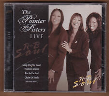 "the POINTER SISTERS cd ""Live R&B Soul"" 2006 Direct Source Import NEW Sealed"