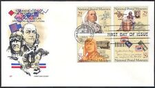 USA 1993 Post/Transport/Mail/Trains/Plane/Horse/Aviation/Museum 4v FDC (n40915)