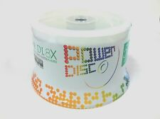 50 POWER DISC Logo 8X DVD+R DL Dual Double Layer Disc 8.5GB with Cake Box
