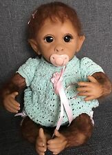 "Asthon Drake 14"" Clementine Needs Cuddle Monkey Doll by Linda Murray"
