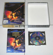 Gioco Pc Cd STAR WARS REBEL ASSAULT II 2 The Hidden Empire BOX Guerre stellari
