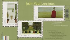 Canada Stamps -Souvenir Sheet of 3 -Art Canada: Jean-Paul Lemieux #2068 -MNH