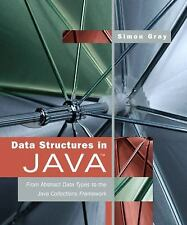 Data Structures in Java: From Abstract Data Types to... (Excellent Condition)