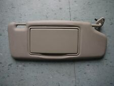 01 2001 Volvo S40 Right Rh Passenger side sun visor light beige tan Oem Nice