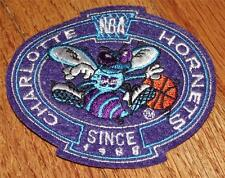 """NEW Charlotte Hornets Crest Logo Polo Sized Embroidered Patch 3"""" x 3.25"""" *P5"""