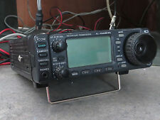 ICOM IC-706MKIIG HF/VHF/UHF ALL MODE TRANSCEIVER WITH MIC & MANUAL