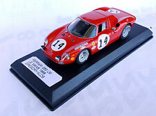 FERRARI 250 LM GREGORY-KOLB RETIRED LE MANS 1968 LOOKSMART 1:43 RARE!!!!
