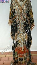 Kaftan Embellished Crystal16/22 long silk mix Vintage special price RRP$299