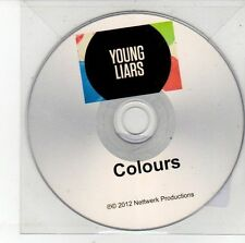 (DV461) Young Liars, Colours - 2012 DJ CD