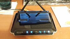 BELKIN  F5D8233-4 300 Mbps 4-Port 10/100 WIRELESS N ROUTER EXCELLENT CONDITION