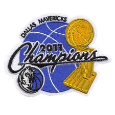 2011 Dallas Mavericks NBA Champions Alternate Round Version Patch