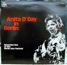 "Anita O'Day ""In Berlin, Recorded Live At The Berlin Jazz Festival"" 1971 RCA lp"