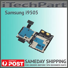Genuine Samsung Galaxy S4 i9505 SIM SD Card Reader Holder Flex Cable Replacement