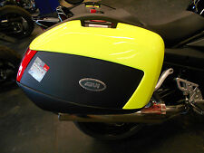 GIVI SADDLEBAG SET V35 MONOKEY WITH HI VIZ LIDS (Fluorescent Yellow)