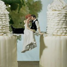 Romantic Wedding Cake Topper Figure Bride & Groom Couple Bridal Gift Decoration