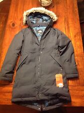 NEW Women's The North Face ARCTIC PARKA Down Insulated Fur Coat S Small $299