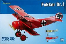 Eduard 1/48 edk8492 FOKKER dr.1 Triplano WWI Fighter Edizione Weekend