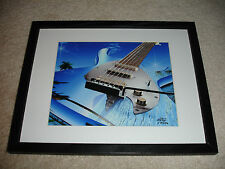 """""""Six String In The Islands"""" Signed Limited Edition 452/500 Print 2007 Alan Foxx"""