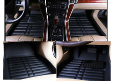FLY5D Car Floor Mats Front & Rear Liner Waterproof For Honda Vezel / HRV 2013-16