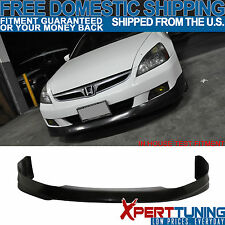 2006 2007 Honda Accord 4Dr Front Bumper Lip Spoiler HFP-Style Urethane