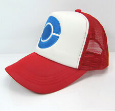Anime Cosplay Pokemon GO!Pocket Monster Ash Ketchum Baseball Trainer Cap Hat