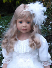 "Masterpiece Allison Blonde Wig, Fits Up To 20 1/2"" Head, Doll Not Included"