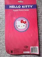 Hello Kitty Sanrio Doodle Picture Holder With Markers To Create And Decorate