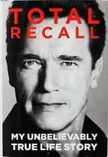 Arnold Schwarzenegger - Total Recall - New Hardcover Book