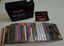 AEROSMITH - COMPLETE 26 Mini LP CD Lot + Promo Drawer Box - Japan - RARE OOP
