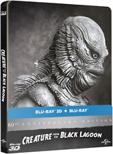 Creature from the Black Lagoon - Limited Edition Steelbook (Blu-ray 2D/3D) NEW!!