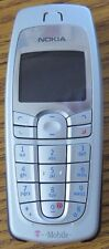 Nokia 6010 Straight Talk T-Mobile Cell Phone Very Good Used Unlocked Silver