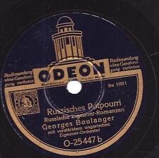 Georges Boulanger Orchester : Russische Romanze + Zwei Guitarren Romanze