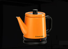 Russel Hobbs Electri Kettle RH-080KSO Wireless Stainless 0.8L, Orange