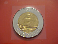 Aland Islands 50 Daler 1994 Map And Boat UNC Bi-Metal Rare Coin