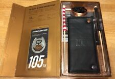 HARLEY DAVIDSON 105TH ANNIVERSARY WALLET, COPPER BRACELET, FLAGS & KEYCHAIN -NIP