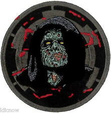 Darth Sidious Zombie Patch 7.5cm Dia - Sew On/ Iron On