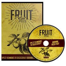 Fruit Growing ~ Start Your Own Orchard { 28 Vintage How To Books} ~ DVD Gift Set